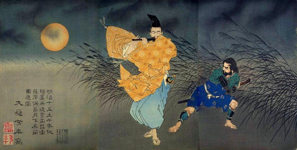 Fujiwara-Yasumasa-Gekka-Routeki-zu